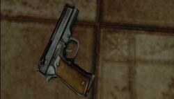 Silent Hill 3's handgun