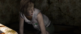 Heather wakes up in Nightmare Hilltop Center 001