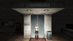 Hilltop entrance