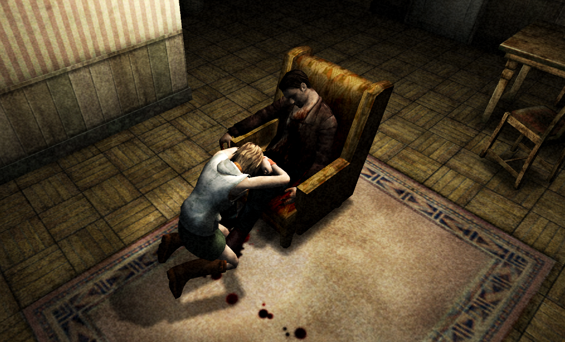 Image result for silent hill 3 harry death