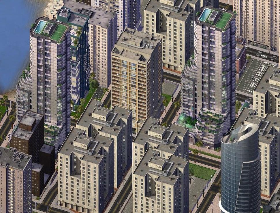 Simcity  Building Styles Mod