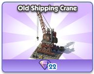 Old Shipping Crane