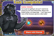 Quest canine-cohorts done