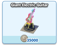 Giant Electric Guitar