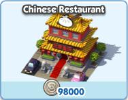 Business chinese restaurant