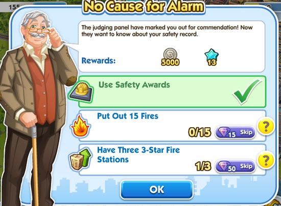 No Cause for Alarm