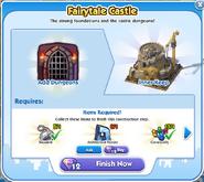 Fairytale Castle Stage 1