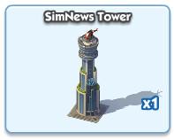 SimNews Tower