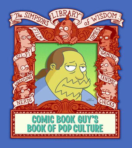 File:Comic Book Guy's Book of Pop Culture.jpg