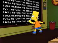 Simpsons-dog