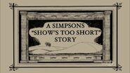 A Simpsons Shows Too Short Story 1