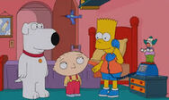 Bart showing stewie and brian to prank call