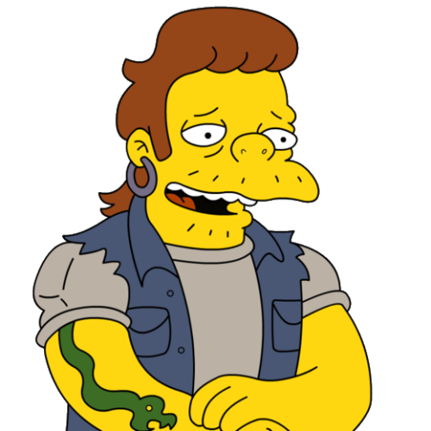 Serpente simpsons italia fandom powered by wikia - Les simpson tout nu ...