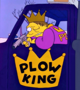 Plow king shoots mr plow