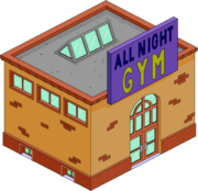 Tapped Out All Night Gym