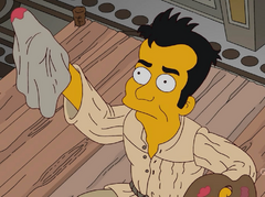 Julio as Michelangelo