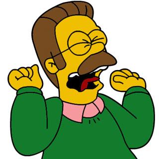 Salveo Mattini con il caratteristico maglione verde infuriato perché gli italiani non hanno come farsi lo Spritz