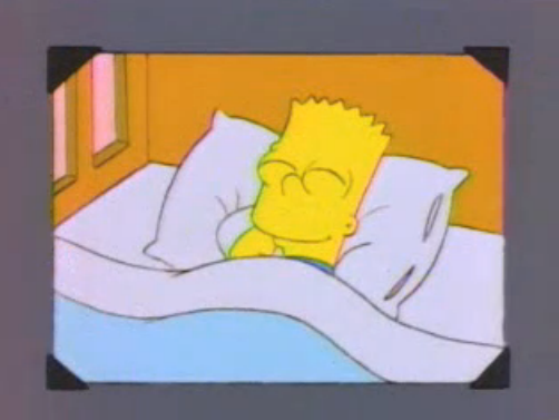 File:Bart young sleeping in a photo in And Maggie Makes Three 2.png