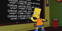 Bart's Comet/Gags