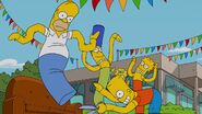Yellow Subterfuge Couch Gag