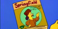Springfield Telephone Directory