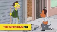 "THE SIMPSONS So Satisfying from ""Fland Canyon"" ANIMATION on FOX"