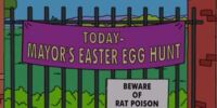 Mayor's Easter Egg Hunt