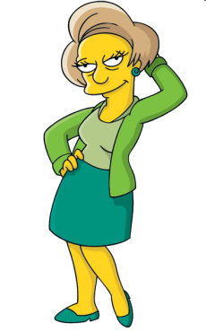 Edna krapabelle wiki les simpson fandom powered by wikia - Tout les personnage des simpson ...