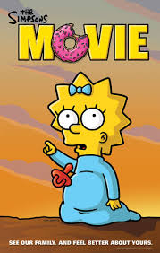 File:The Simpsons Movie Maggie pointing at Something Poster.jpg