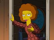 Maude in pajamas