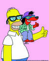 The Itchy & Scratchy & Poochie Show - Promo Image