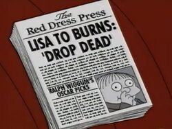 Lisa to Burns