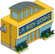 La body works tapped out