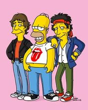 Rolling stones simpsons 1
