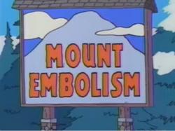 Mount Embolism