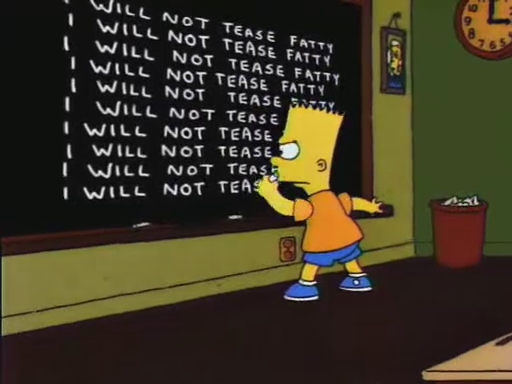 File:Lisa the Skeptic Chalkboard Gag.JPG