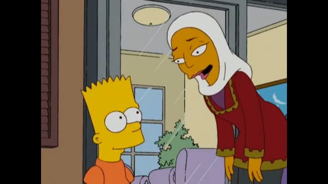 Watch simpsons adults only episode better, perhaps