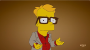 Bart as Woody Allen