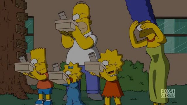Resultado de imagen para los simpsons eclipse