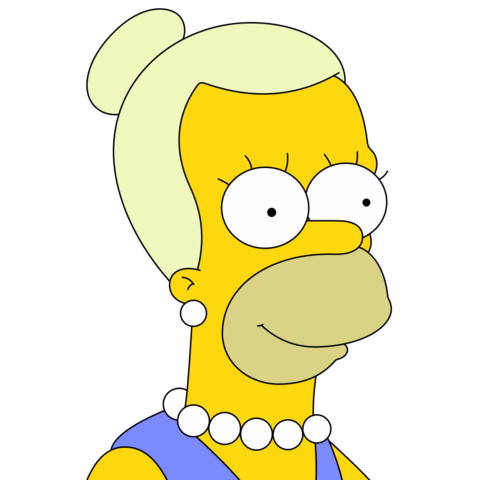 File:Woman resembling Homer.png