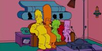 Play-Doh couch gag