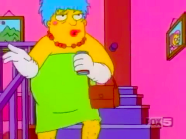 File:Barney Gumble as Marge Simpson.png
