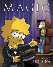 Magic Magazine - The Great Simpsina