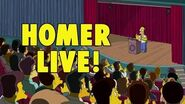 THE SIMPSONS Homer Live! FOX