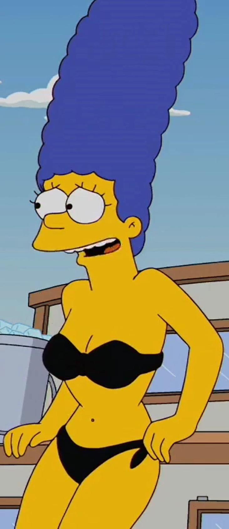 Marge simpson bikini episodes