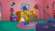 Lisa Goes Gaga (Couch Gag) 1