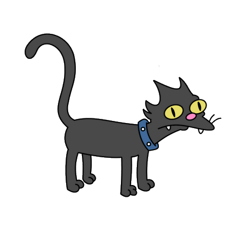 What Is The Name Of The Cat In The Simpsons