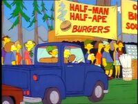 Halfmanhalfapeburgers
