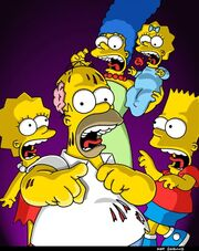 Treehouse of Horror XII (Promo Picture)