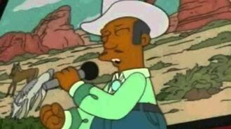 Apu sings where have all the cowboys gone